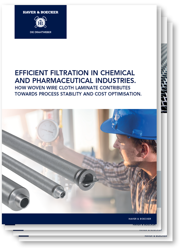 Efficient filtration in chemical and pharmaceutical industries.