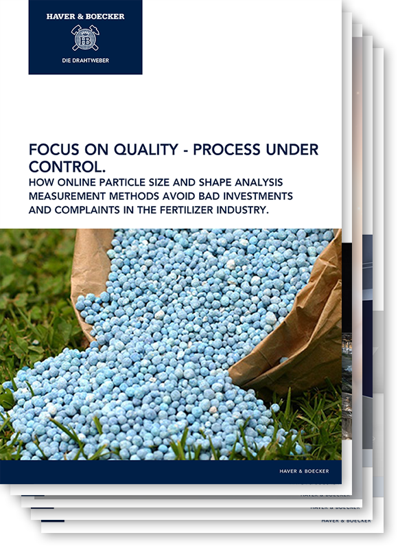 Focus on quality - process under control